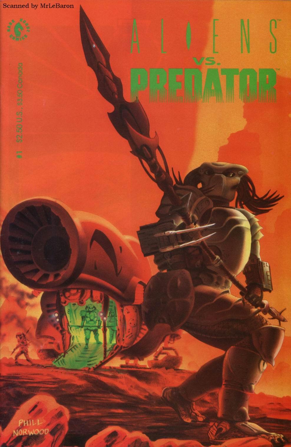 Aliens vs. Predator 1 Page 1