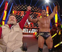 WWE - Alberto del Río volvió en Hell in a Cell y se llevó el cinturón de los Estados Unidos