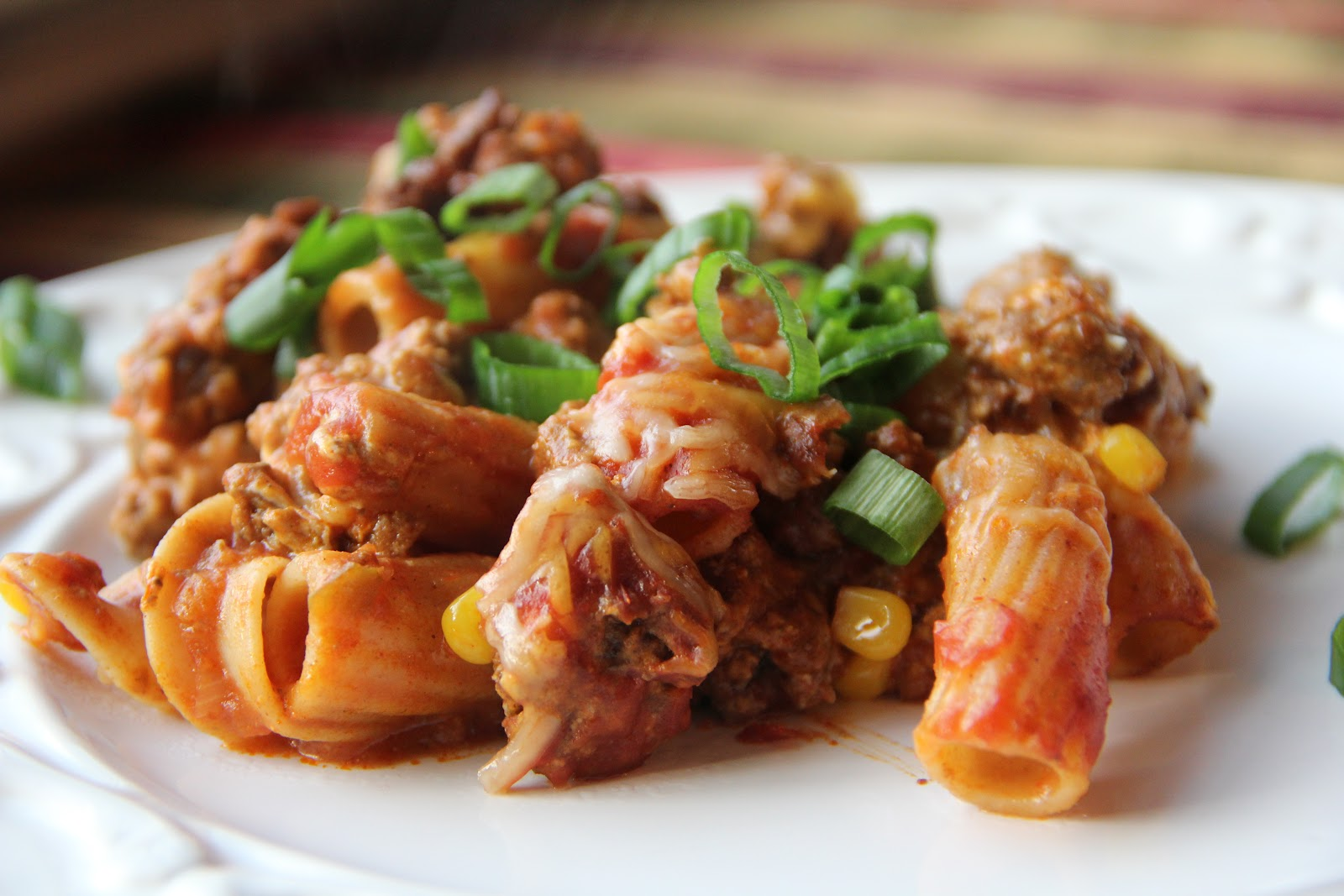 Mix and Match Mama: Dinner Tonight: Taco Pasta