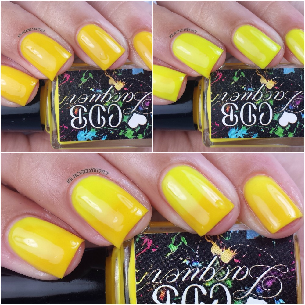 CDB Lacquer - Youthful Yellow