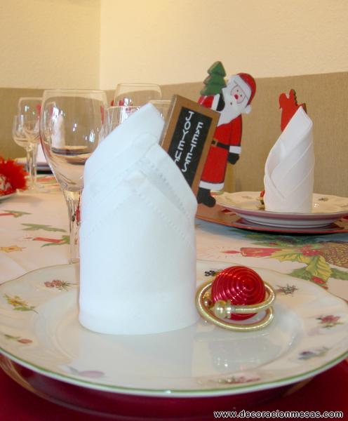 Decoracion De Noel ~ Decoracion de mesas Mesa Navidad de Papa Noel