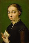 Sofonisba Anguissola autoritratto