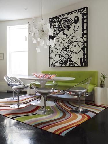 Loveisspeed manhattan triplex interior design by for Jonathan adler interior design