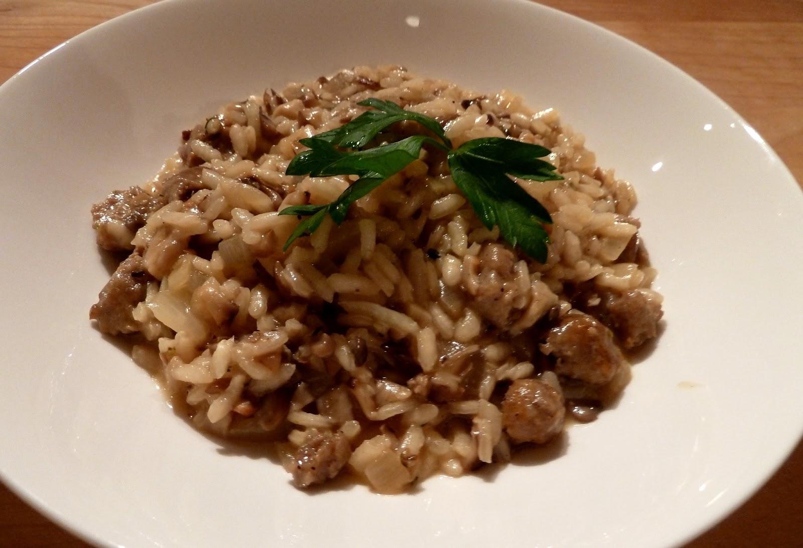 ... mushroom risotto sausage mushroom risotto sausage and mushroom risotto