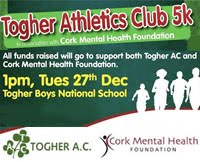 Togher AC 5k...Tues 27th Jan 2016