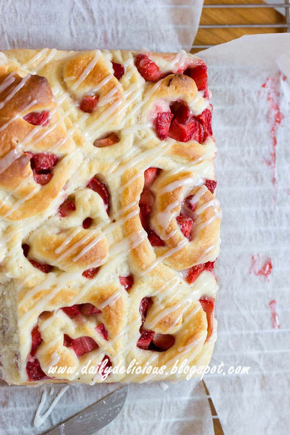 dailydelicious: Fresh Strawberry Bread