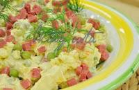 Salamlı Patates Salatası Tarifi
