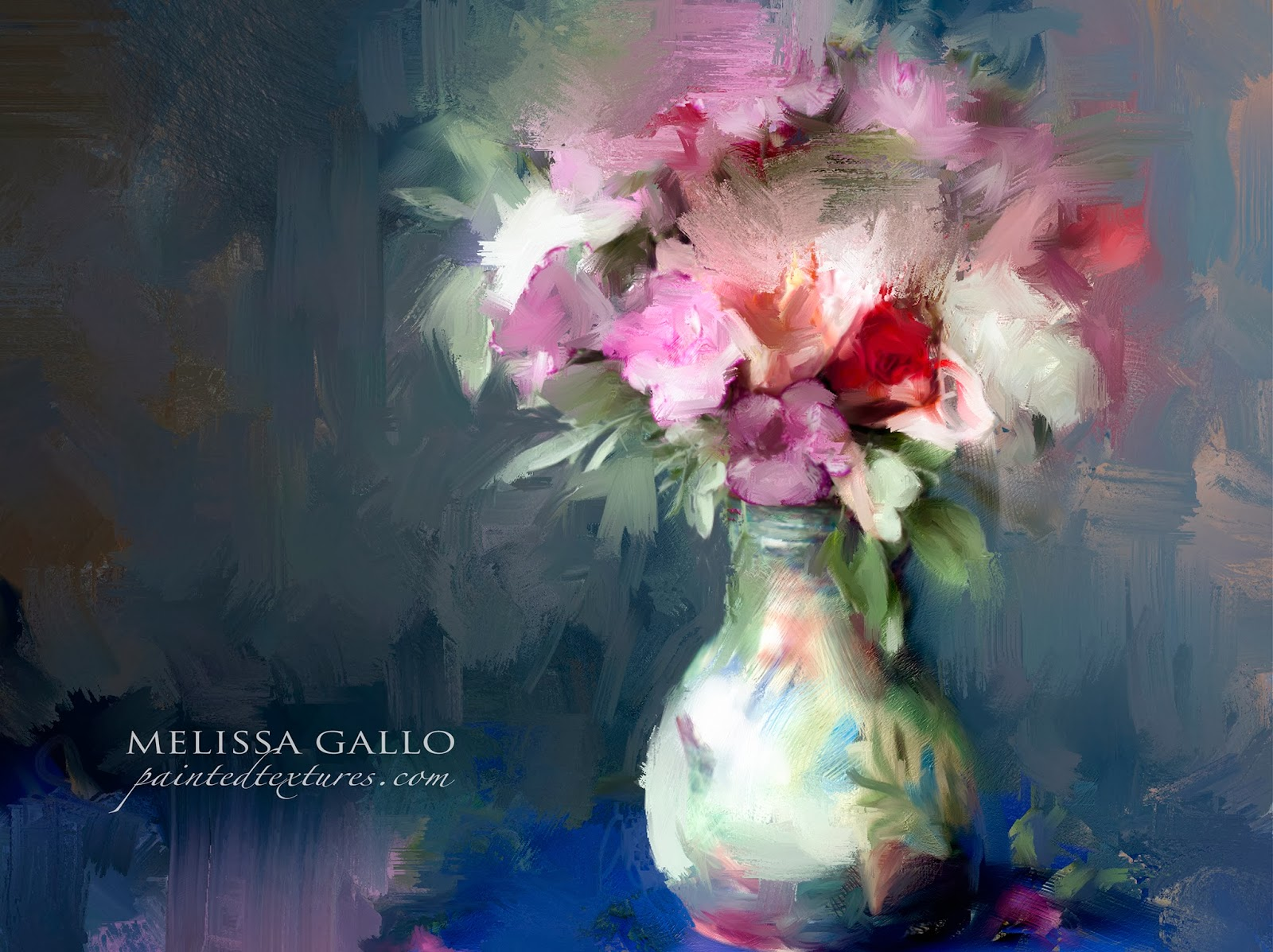Melissa 39 S Studio Putting Digital Brush To Canvas With Corel 39 S Painter Software