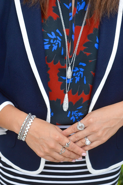 Ann Taylor necklace, cuff set