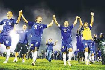 Persib Bandung Juara ISL 2014