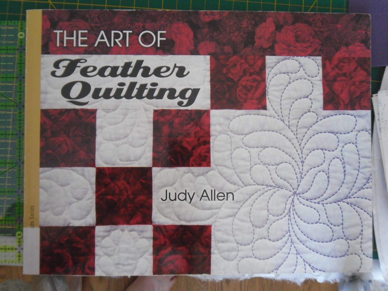 Books and quilts needlework tuesday quilting feathers