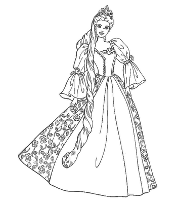 Princess Coloring Sheets on The Wedding Dresses Princess Coloring Sheet To Print