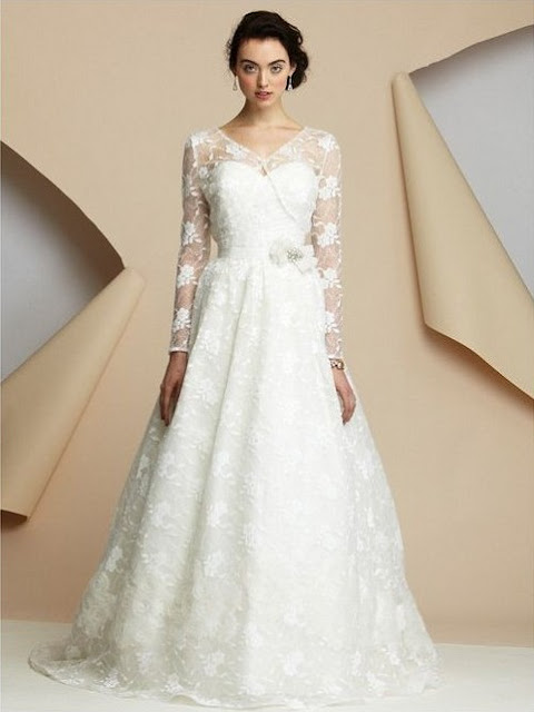 wedding dress with jacket
