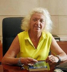 Silvia Núñez, decana del Colegio de Registradores en Balears. 05-07-2012  | T. Ayuga
