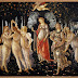 Primavara sau Alegoria primaverii | O pictura de Sandro BoticelliPrimaver