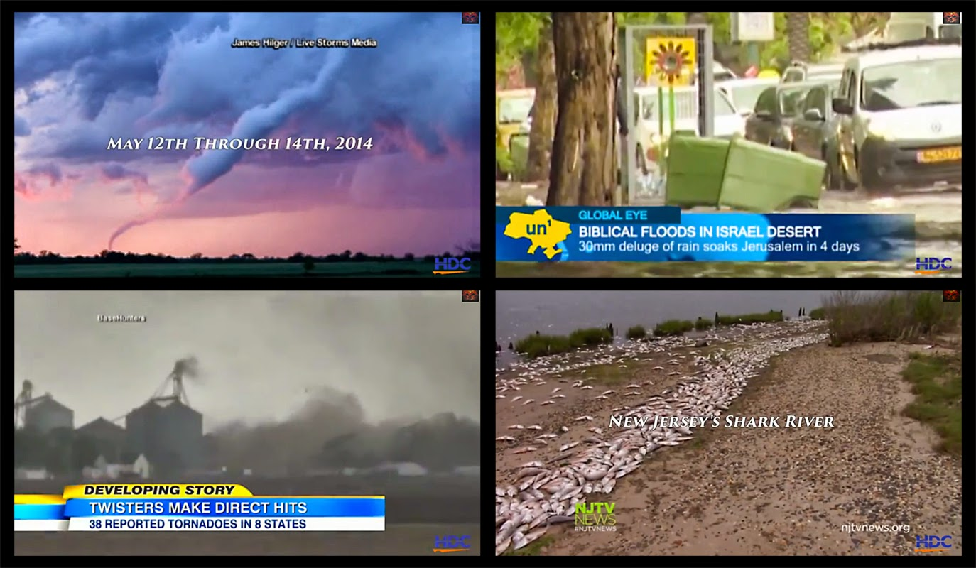 "Screen capture images from the video ""Signs Of Change"" - May 2014"