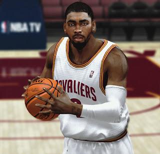 NBA 2K13 Kyrie Irving Cyberface Patch NBA2K Mods