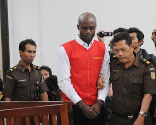 Uzoma Elele Alpha, a Nigerian national, was sentenced to life in prison for possession of 7 kg of crystal meth.