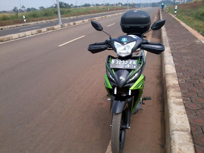 Jupiter MX Touring Modifikasi