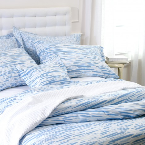Ripple duvet from Matouk