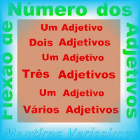 Flexão de número dos adjetivos. Singular e Plural.