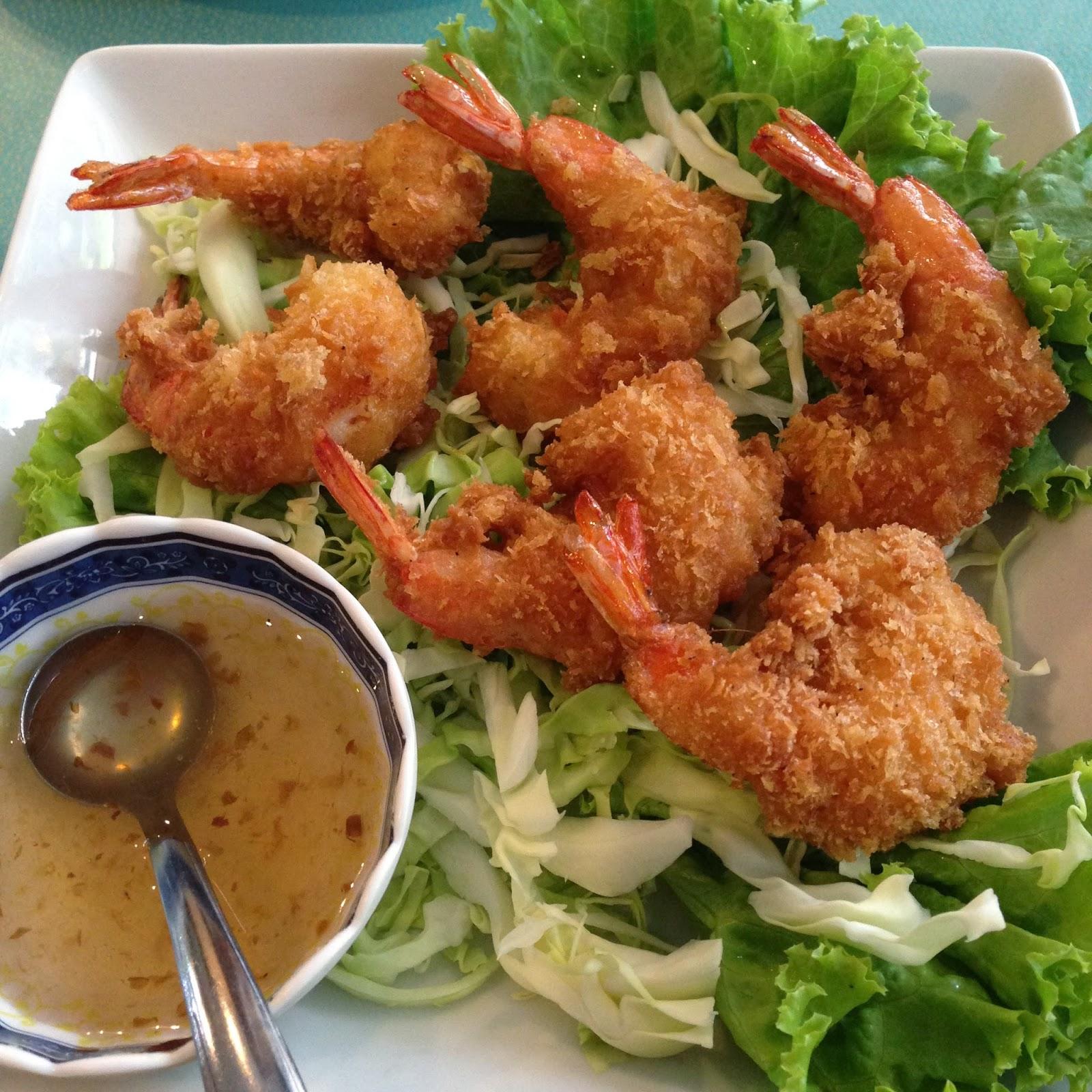 Usman Thai Muslim Food prawn balls