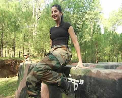 katrina kaif with indian army