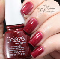 Gelaze Gel Polish Ruby Pumps Swatch
