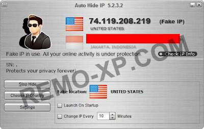 Auto Hide IP is privacy-protection software which enables you to
