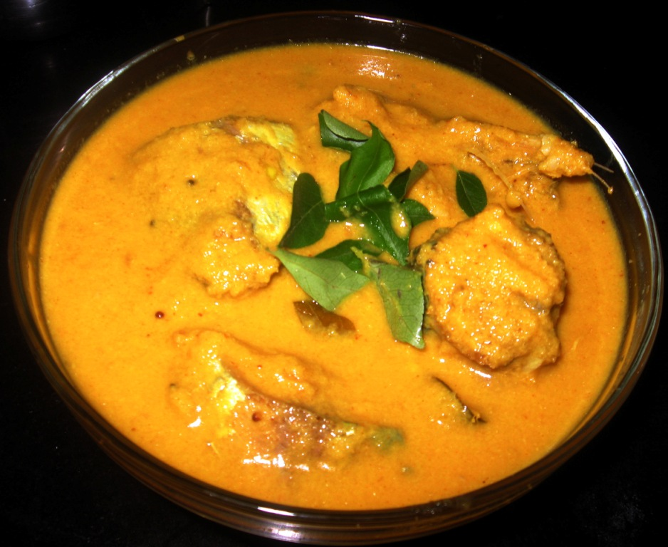 FISH AND GREEN MANGO CURRY