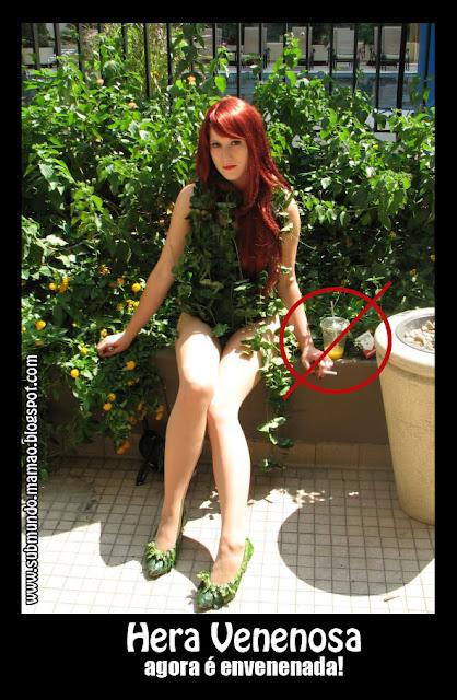 submundo mam u00e3o  cosplay da hera venenosa