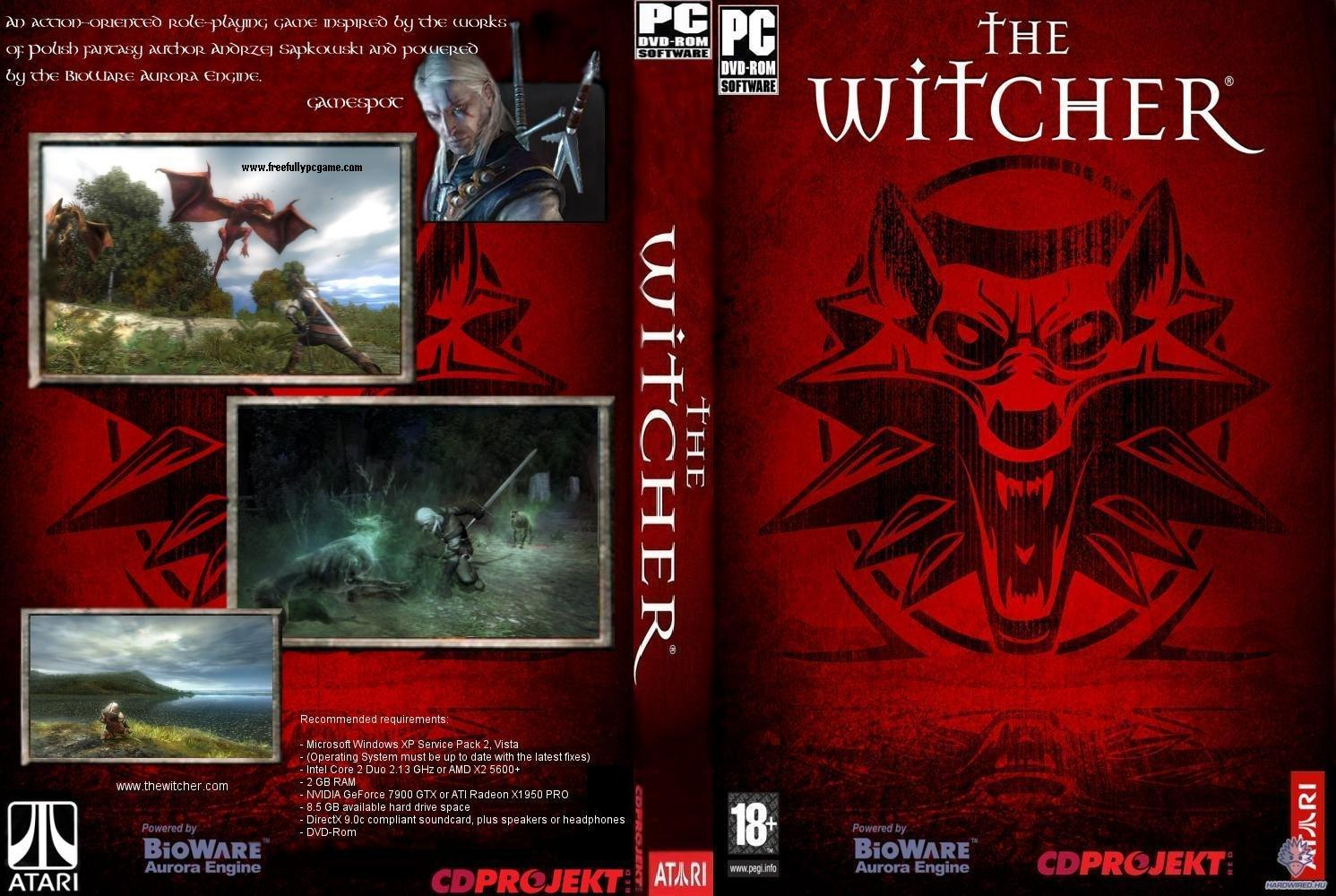 The Witcher 1 Pc Game Enhanced Edition