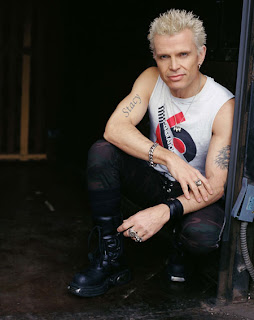 Billy Idol Tattoos - Celebrity Tattoo Designs