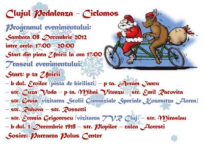 Ciclomosi 2012, Clujul Pedaleaza 2012