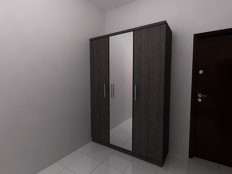 Kcb Furniture Harga Almari Pakaian Minimalis