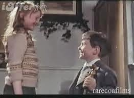 Sophie Neville playing Eileen Brown and Philip Hawkes as Laurie Lee in 'Cider with Rosie' (1971)