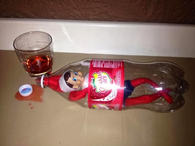 Elf on the Shelf in a Bottle