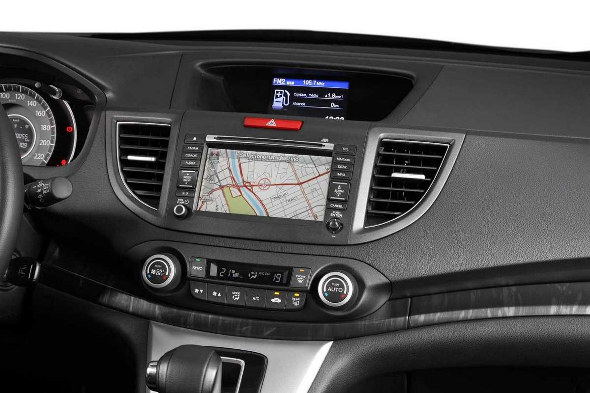 Novo honda cr v com motor flex chega em abril car blog br for Honda cr v 2013 interior