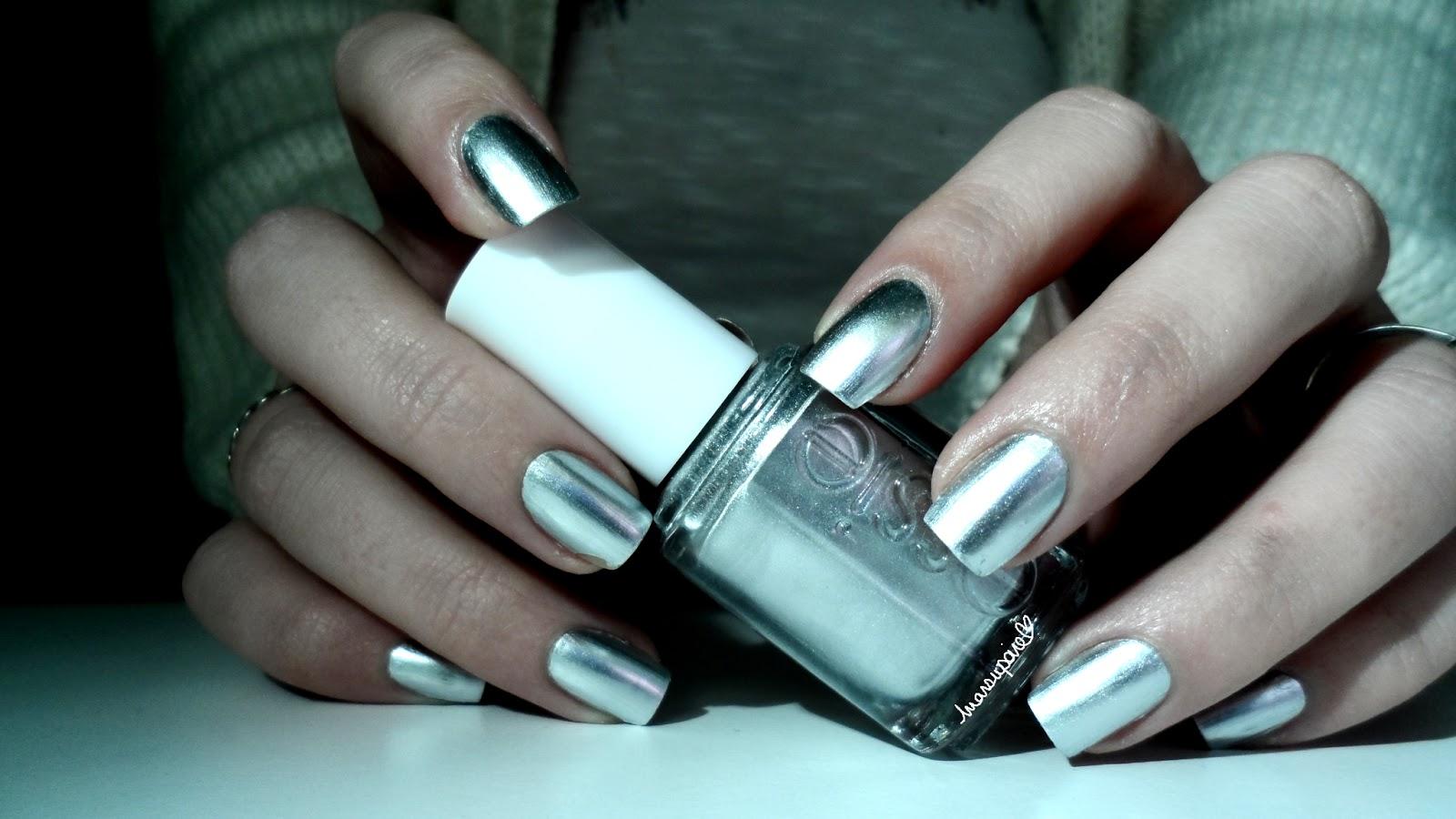 Assez Marsupoire: ~ Essie - No place like chrome, mes ongles de métal ~ FI76
