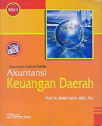 toko buku rahma: buku akuntansi keuangan daerah, pengarang abdul halim, penerbit salemba empat