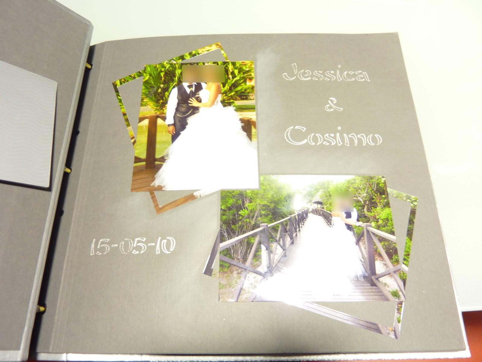 Célèbre Déco Scrap de Misspaupa: Création Scrap : Album de mariage 100  RF59