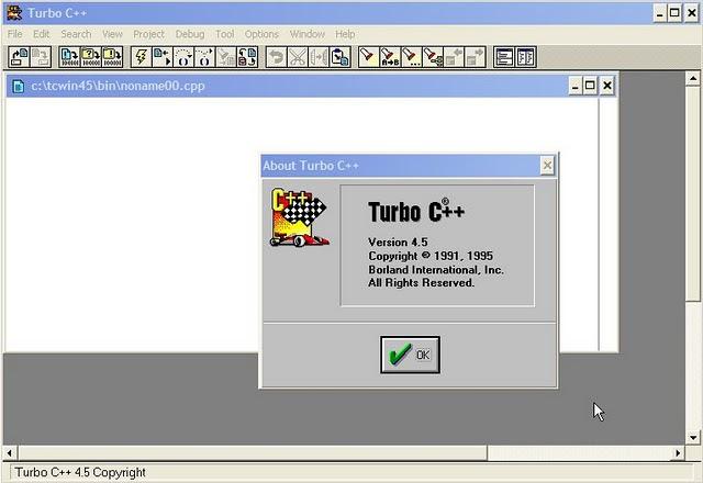 Aeonmax: Borland turbo C++ 4.5 FOR Windows7(32bit)