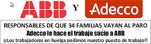 ABB Y ADECCO RESPONSABLES