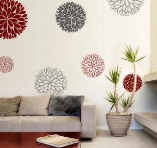 Contoh Hiasan Dinding Rumah Minimalis Populer