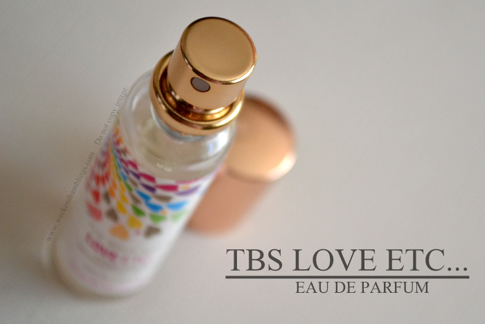 TBS Love ETC... Eau de Parfum Purse Spray EDP Fragrance Perfume for Women Reviews Ingredients Blog