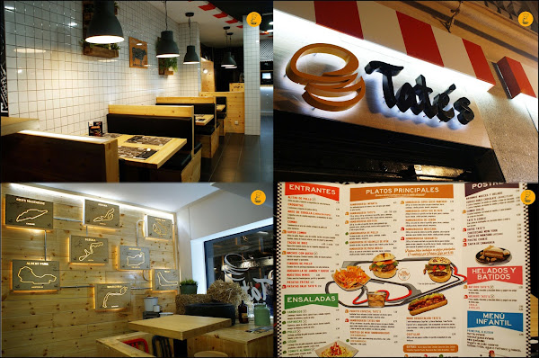 Decoración Tate´s Burger Hermosilla