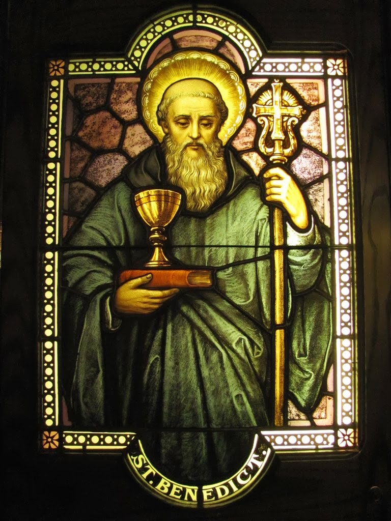St. Benedict of Nursia - Patron of Western Civilization