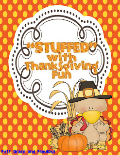 Thanksgiving Stations-First Grade and Fabulous