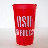22 Oz. Personalized Stadium Cups