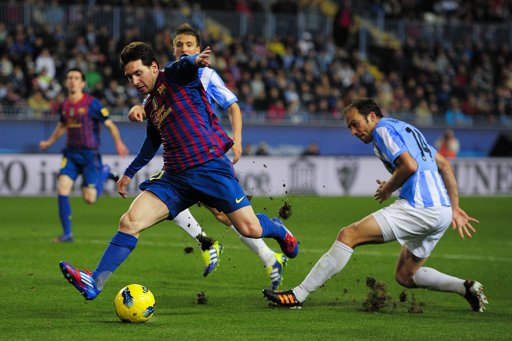 مشاهدة اهداف برشلونة وملجا 4-2 يوتيوب 24-1-2013 كاس اسبانيا اون لاين بدون تحميل